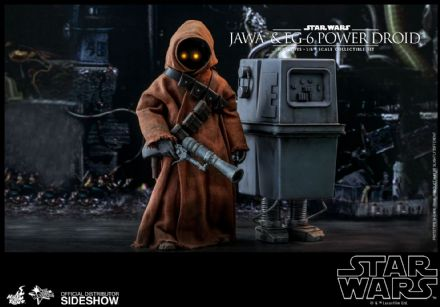 Hot Toys MMS554 Star Wars Jawa & EG-6 Power Droid 1/6 Scale Figure 2-Pack
